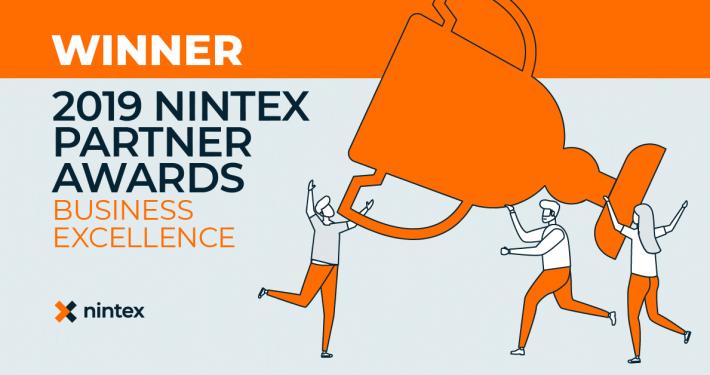 Nintex Partner Award 2019