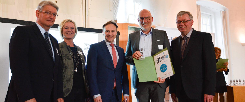 amexus erhält Auszeichnung durch die WfG.