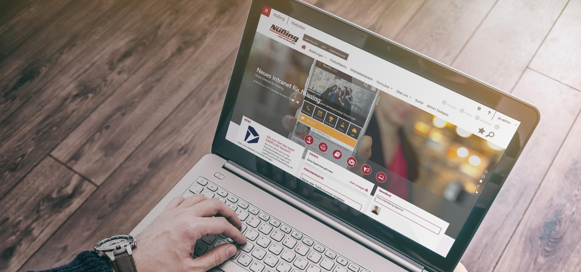 Modernes Intranet im SharePoint mit Valo