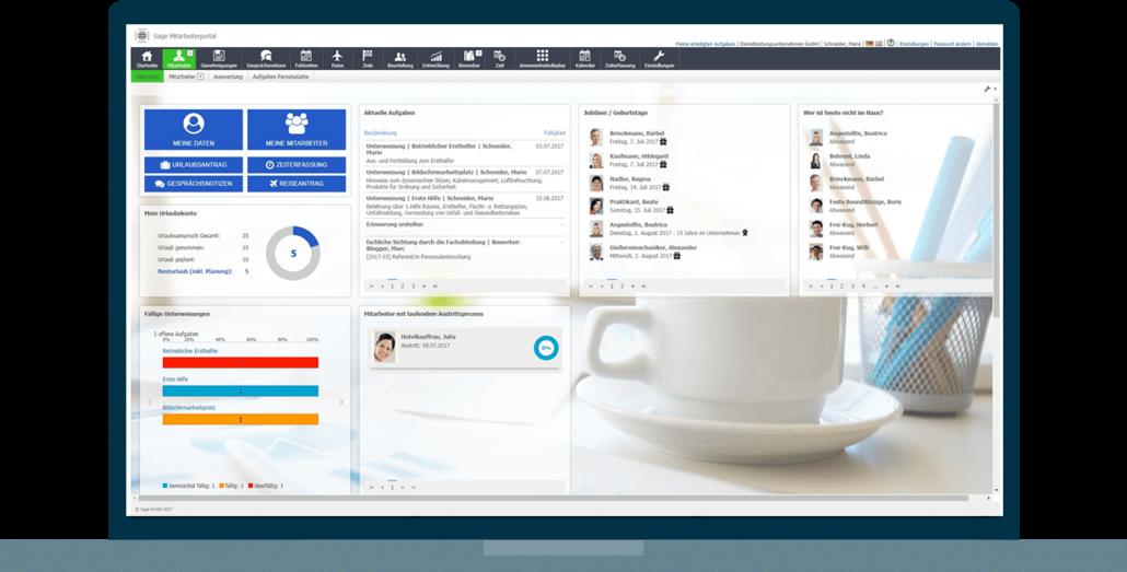 Sage HR Dashboard